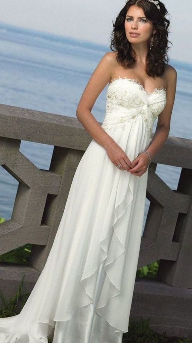 dresses for summer wedding photo