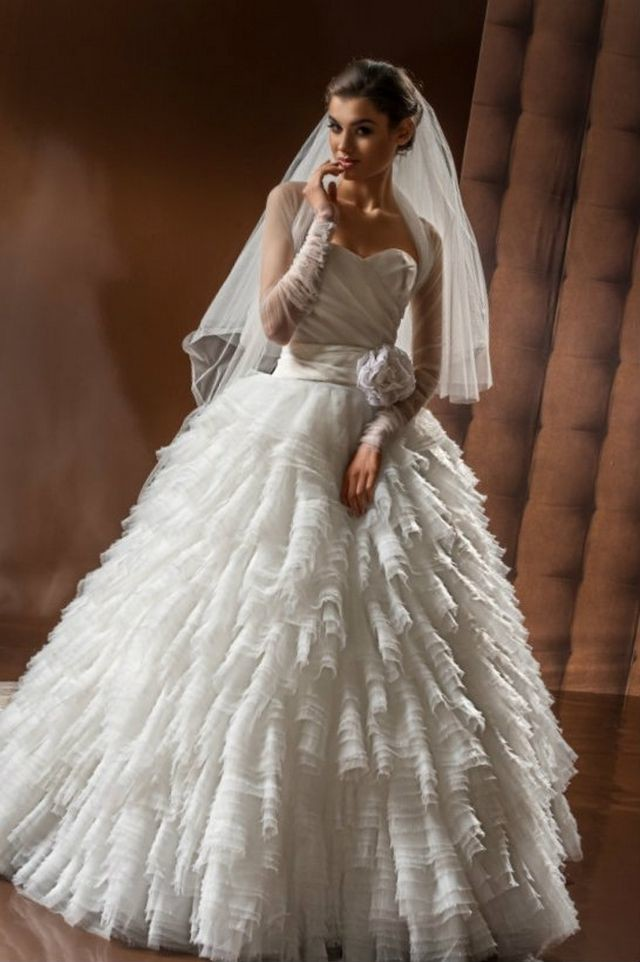 extra puffy wedding dresses