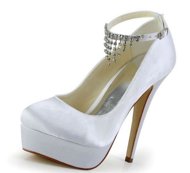 flat platform wedding shoes