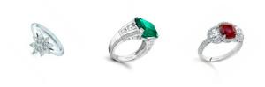 flower diamond engagement ring