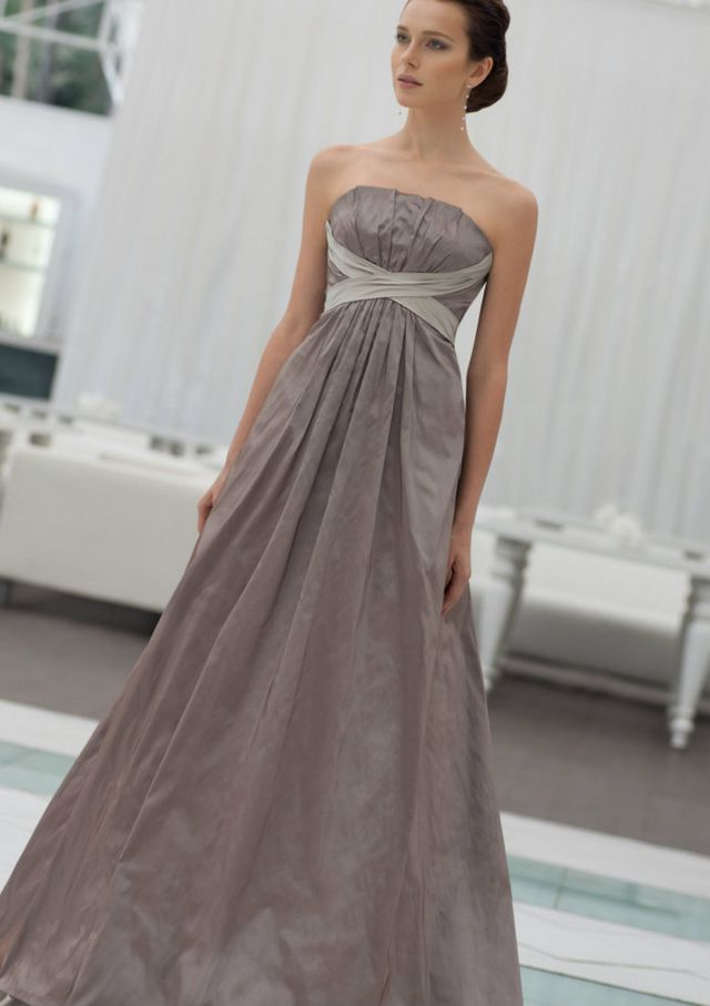 gray dresses for a wedding