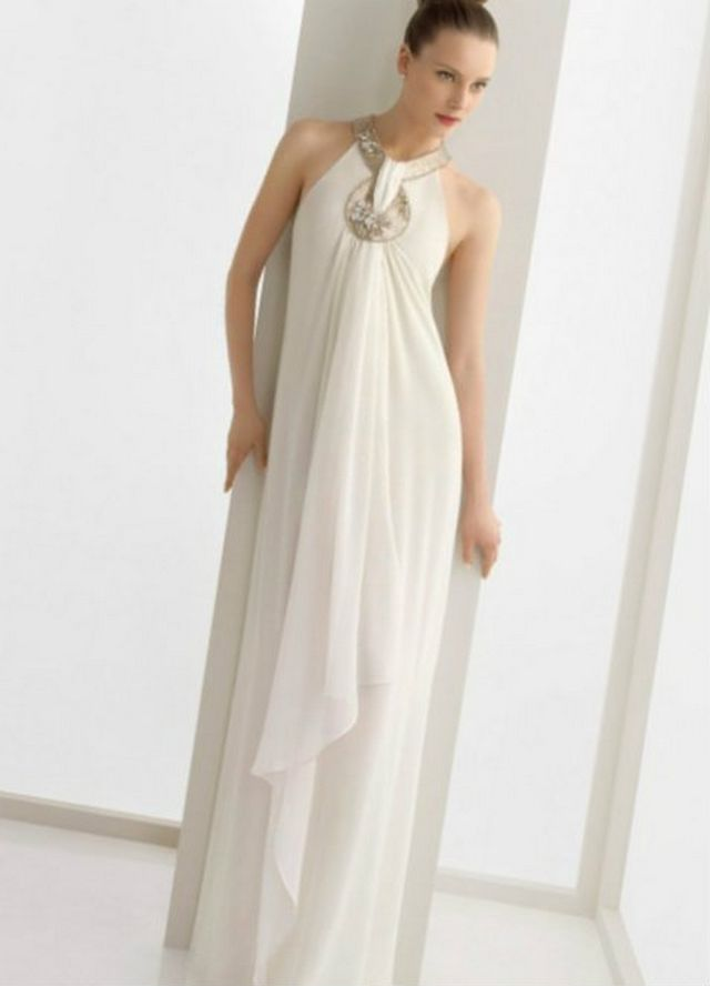 Greek wedding dresses for Grecian goddess wedding dresses