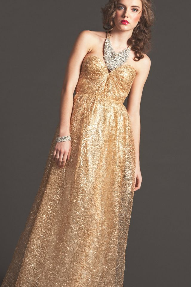 greek gold wedding dresses