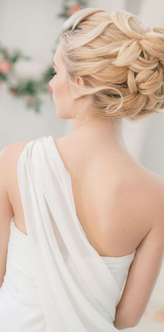 greek style bridal hair