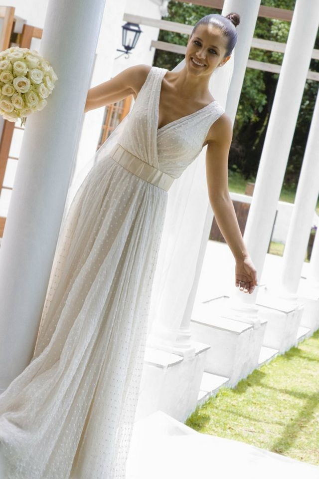 greek style wedding dress ideas
