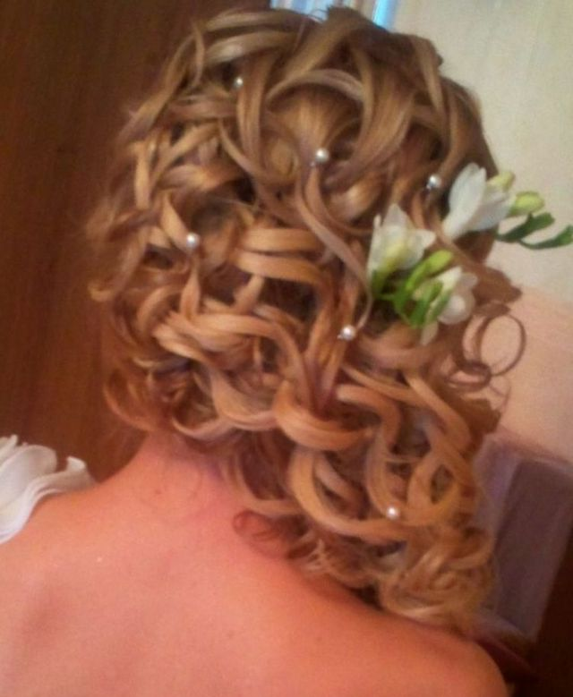 greek style wedding hair pieces