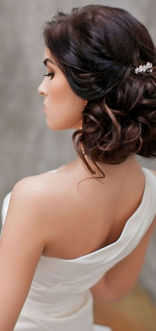 greek style wedding hair