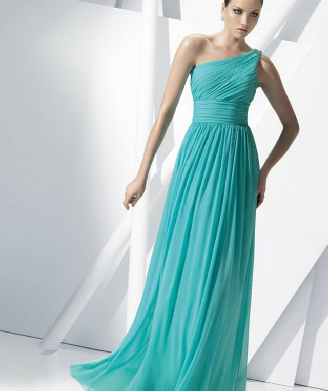 greek turquoise bridal dresses