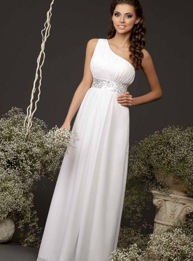 greek wedding dresses plus size