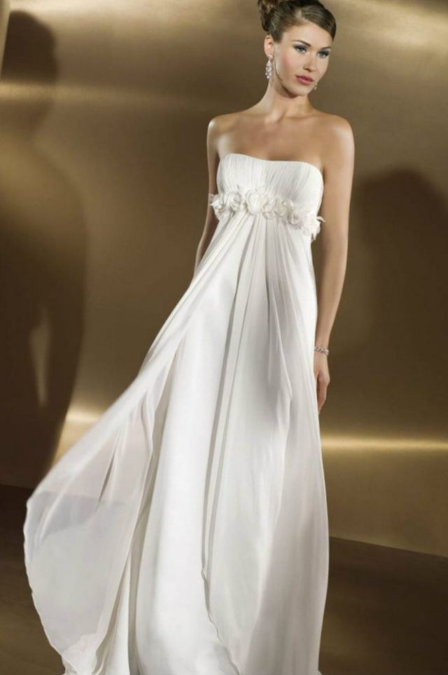 greek wedding gown design
