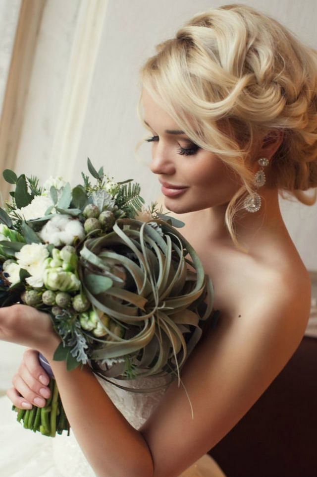 hairstyles for medium hair for wedding