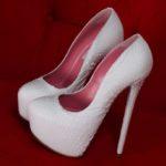 high heels bridal shoes pics