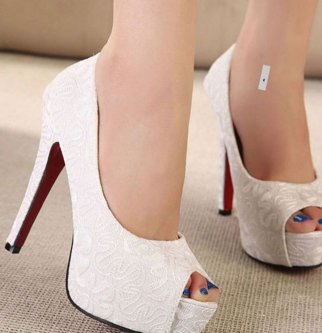 high heels for wedding shoes