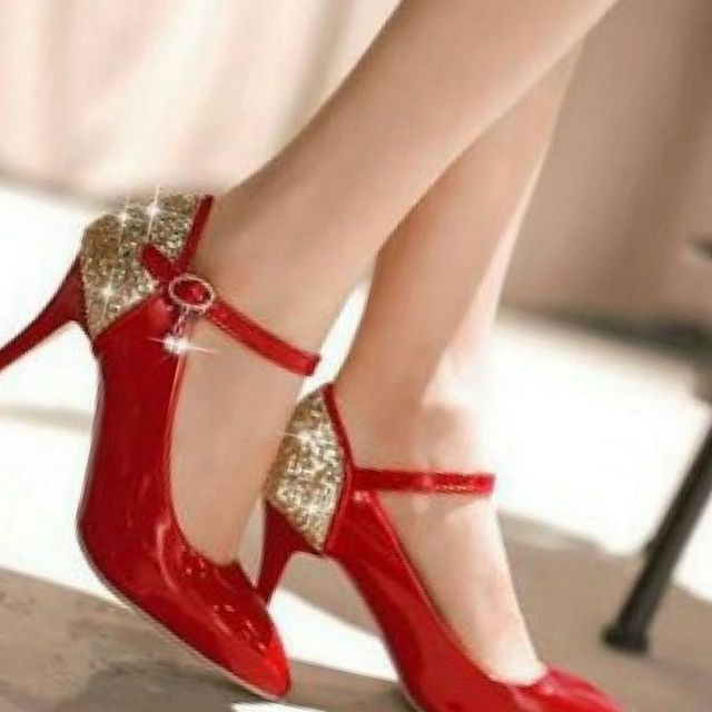 red high heels shoes for wedding