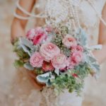 how to make a bridal bouquet peonies