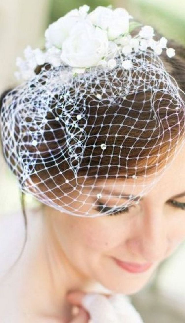 how to make mini wedding veils