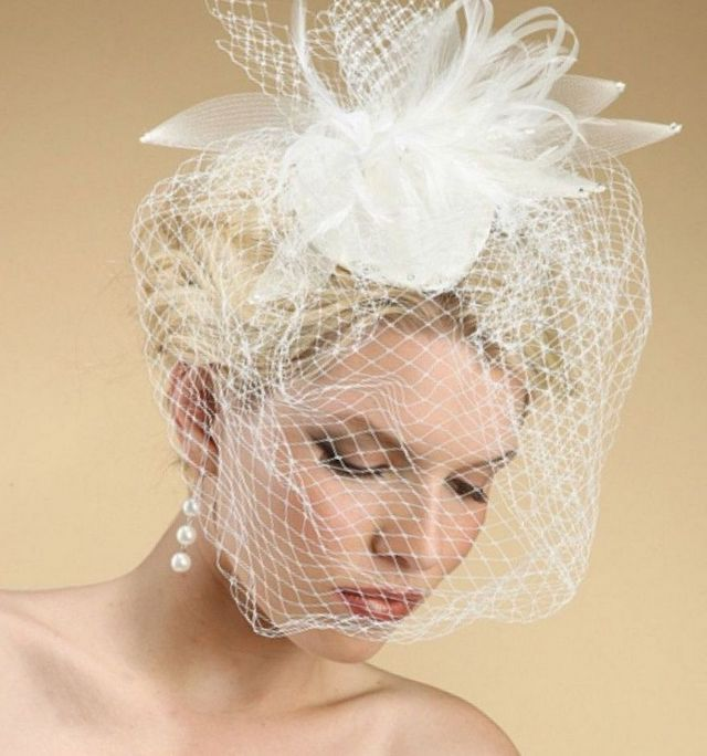 how to make short wedding veils