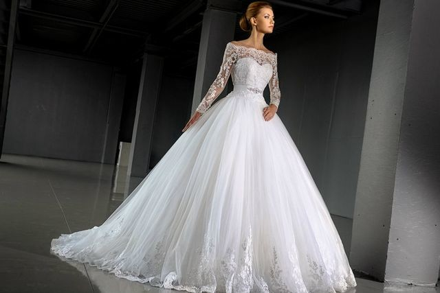 huge puffy wedding dresses