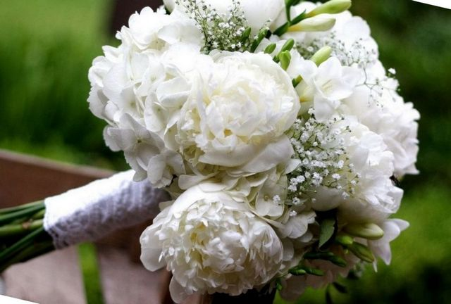 hydrangeas for wedding bouquet