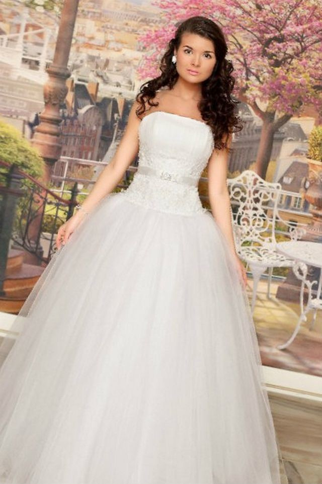 image pretty puffy wedding dresses