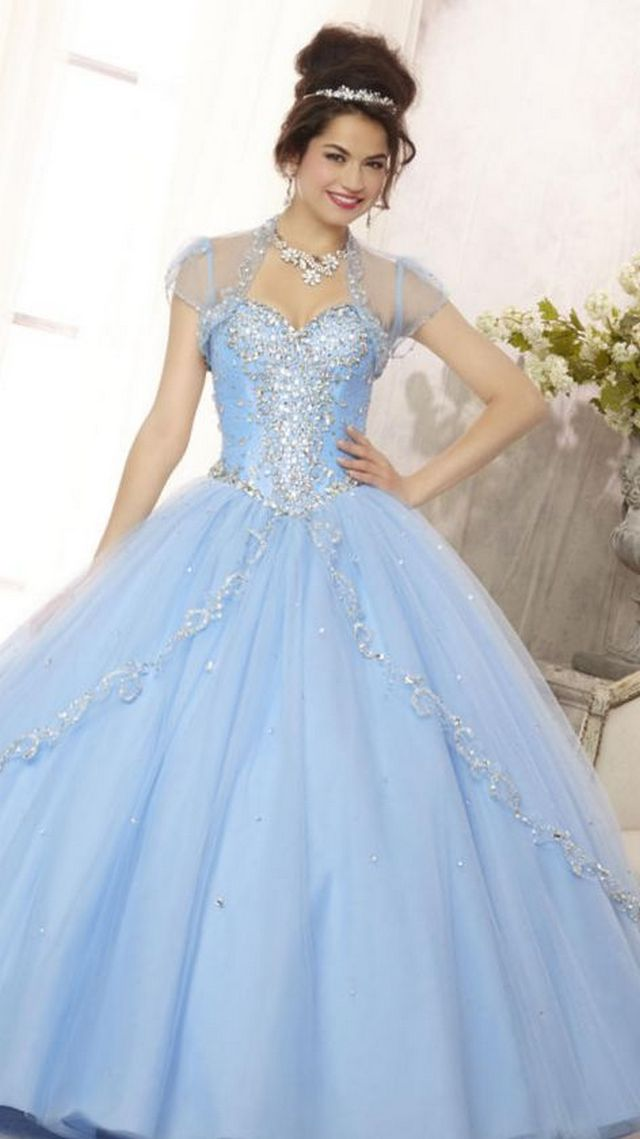 lace blue wedding dresses