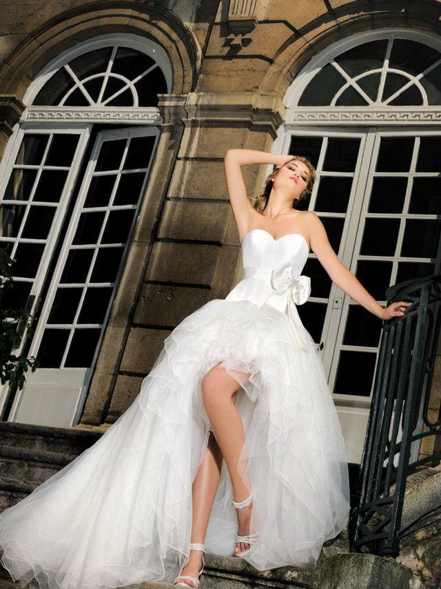 lace mini wedding dresses