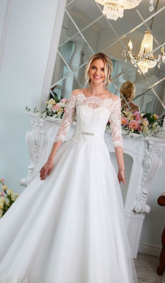 lace wedding dresses cheap