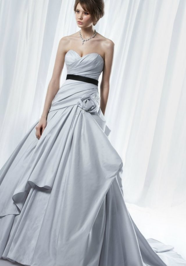 light gray wedding dress light grey wedding dress 5523