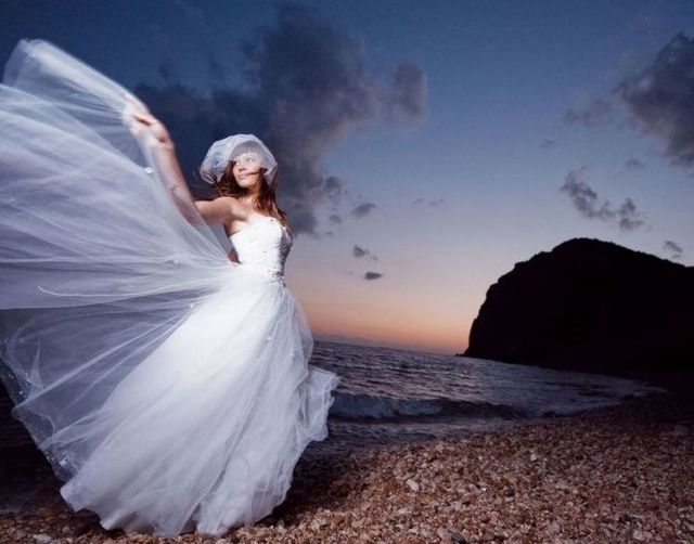 long beach wedding dresses