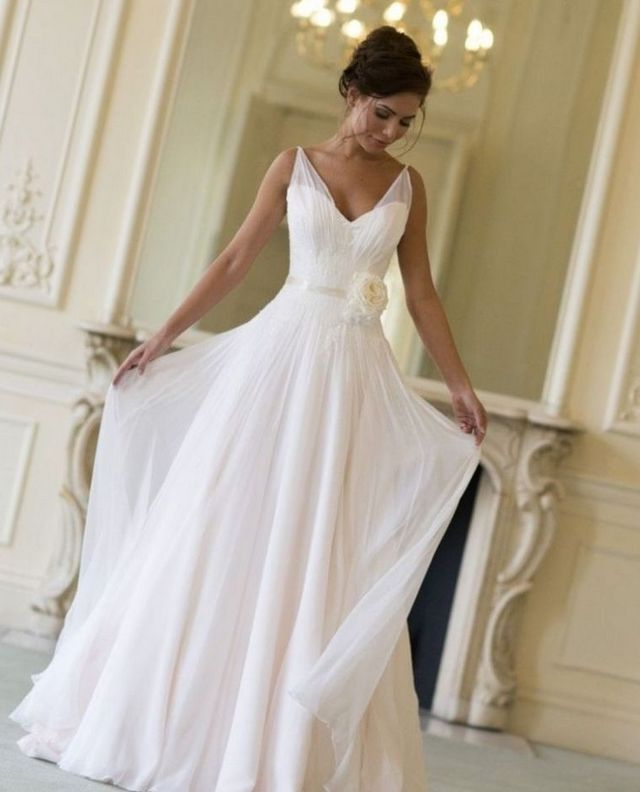 long dresses for summer wedding