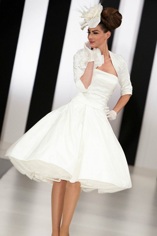 long sleeve mini wedding dress
