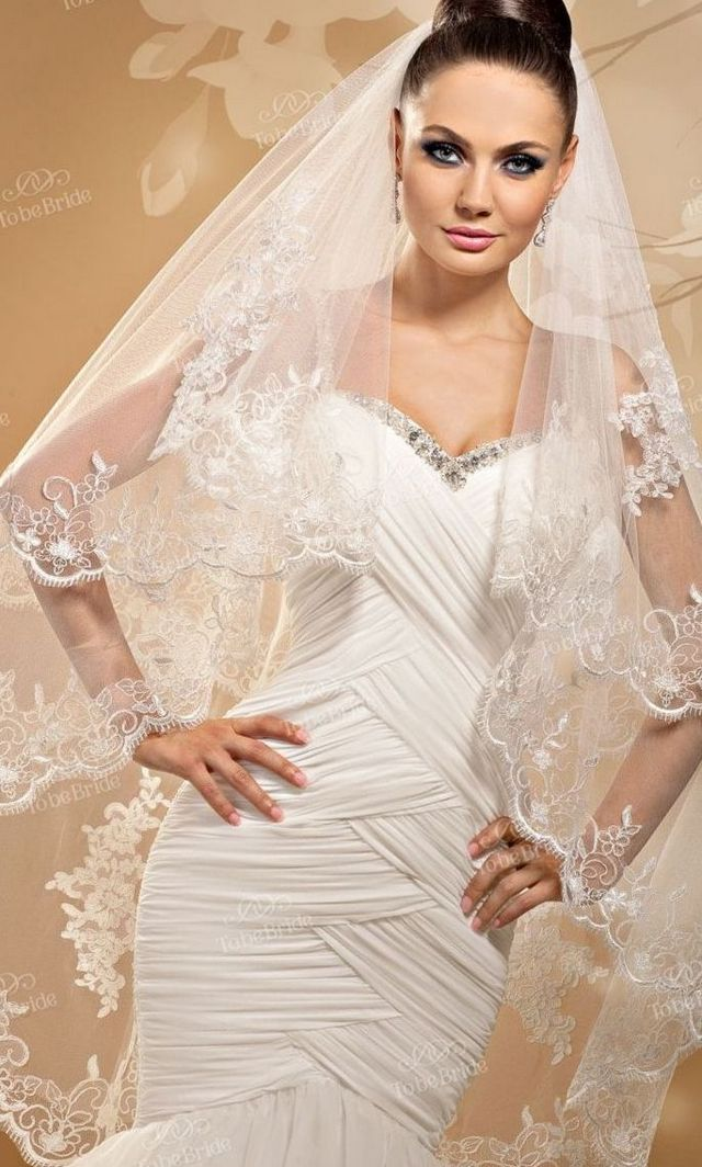 long veil wedding hair