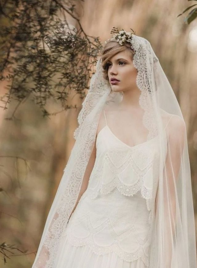 long wedding veil with swarovski crystals
