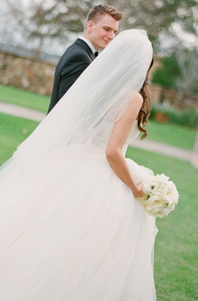 long wedding veils images