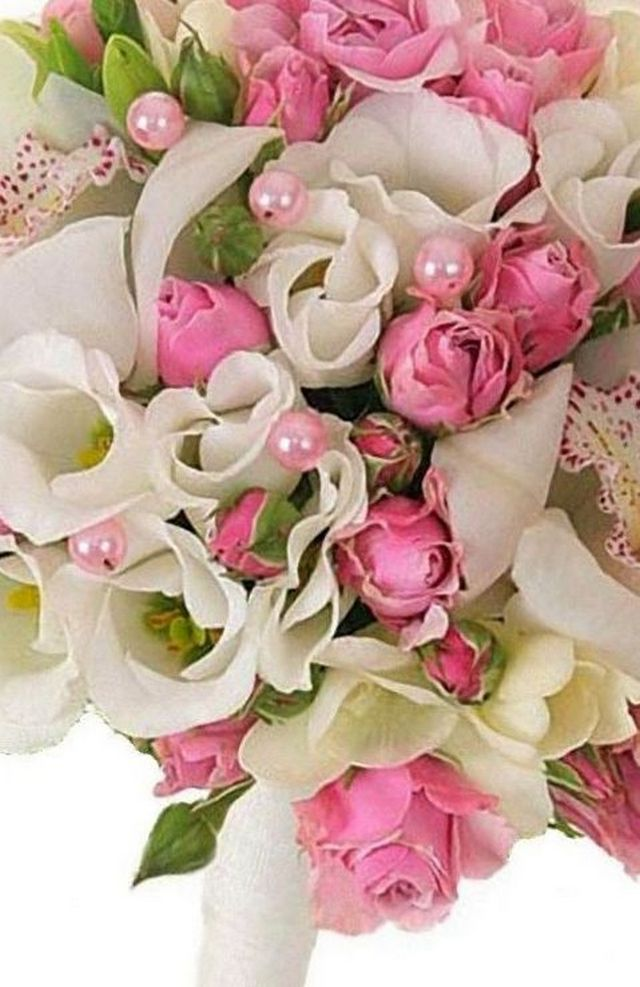 make freesias wedding bouquet