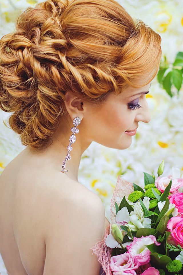 medium bridal hairstyles picture