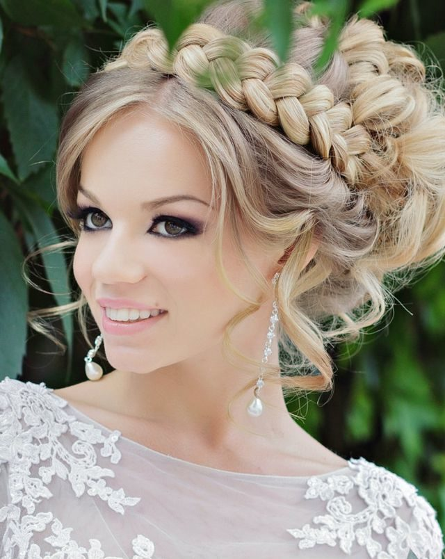 medium length hairstyles for wedding