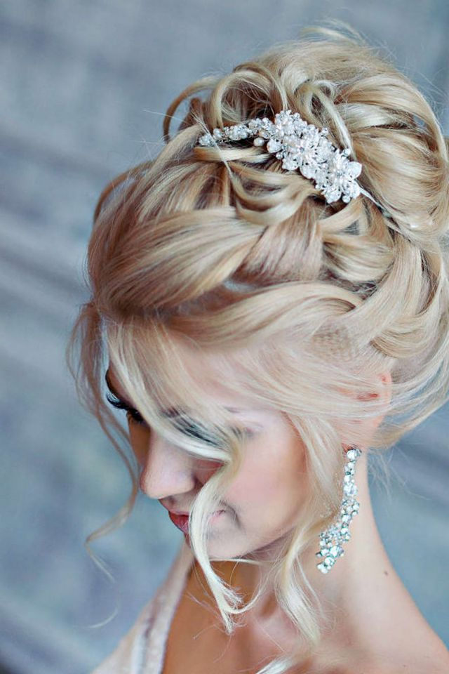 medium wedding updos image