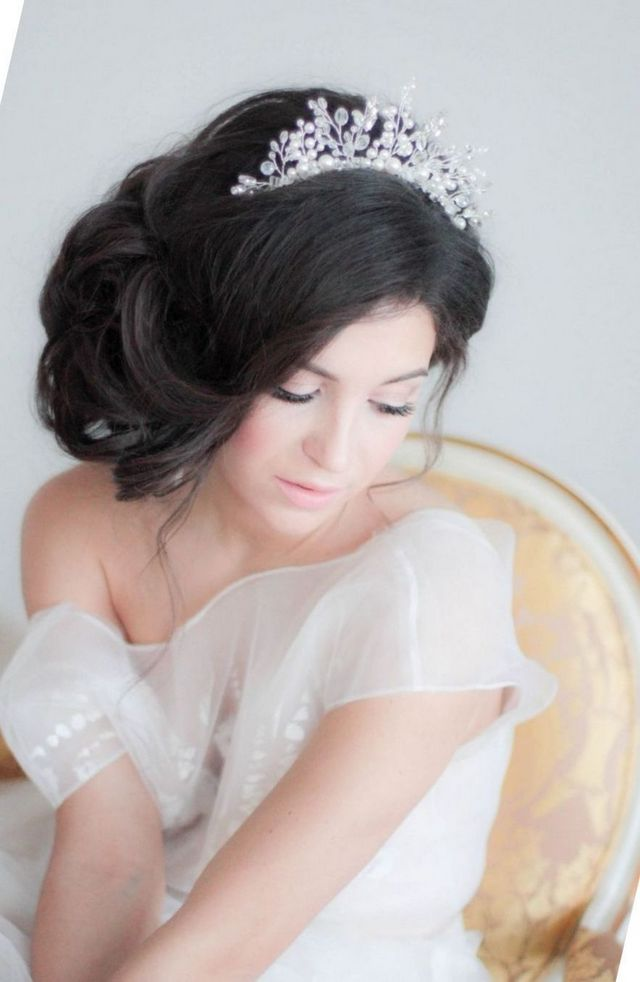 modern wedding headbands