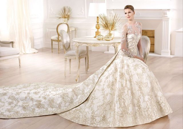 most beautiful wedding dresses with sleeves