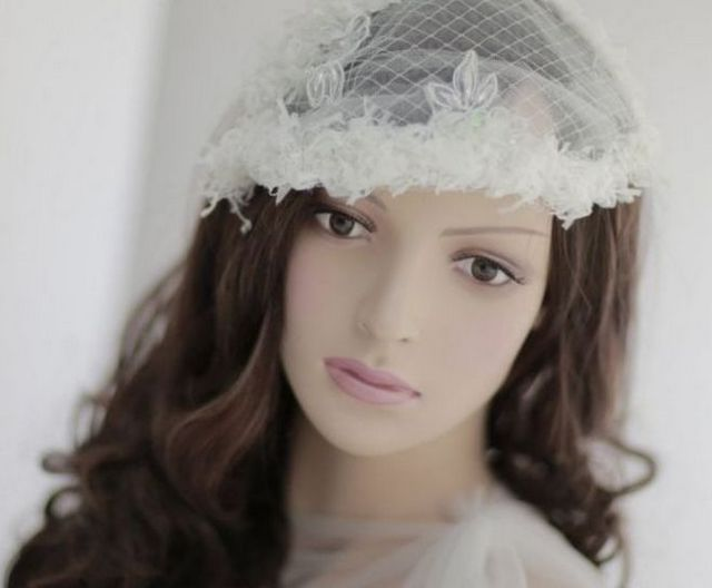 pictures of mini wedding veils