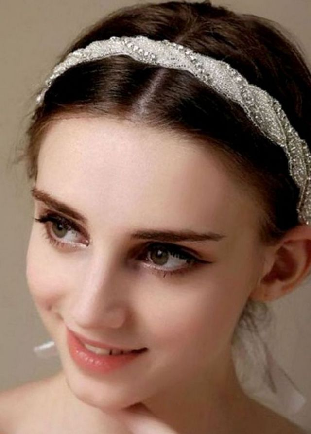 pictures of wedding headpieces