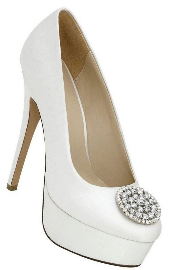 platform wedding shoes for bride