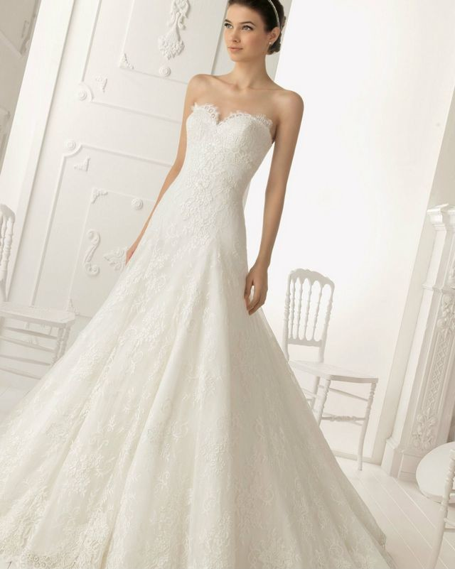 pretty puffy wedding dresses