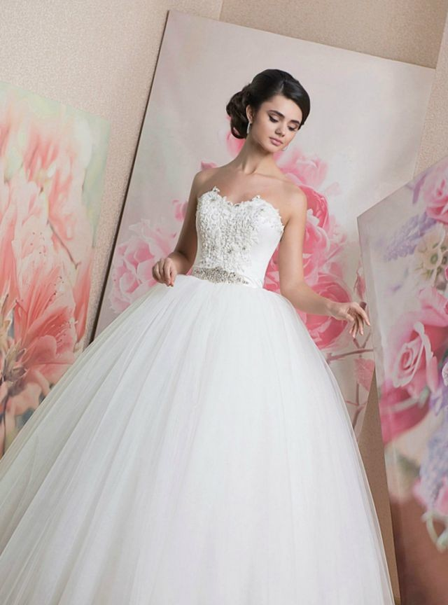 puffy wedding dresses 2016