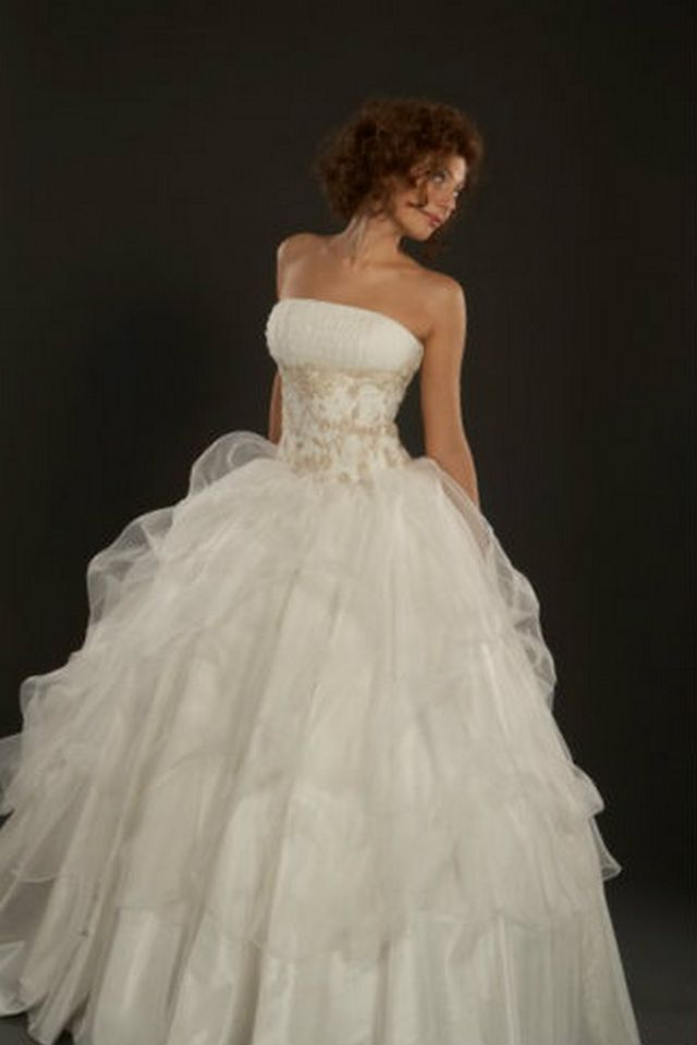 puffy wedding dresses online