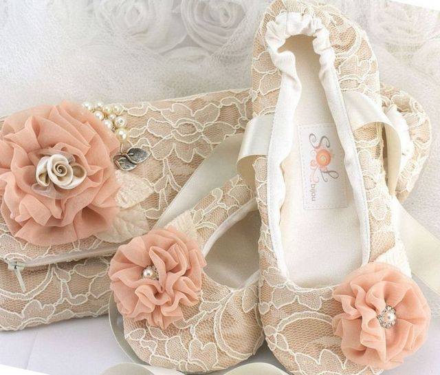 satin ballet flats for wedding