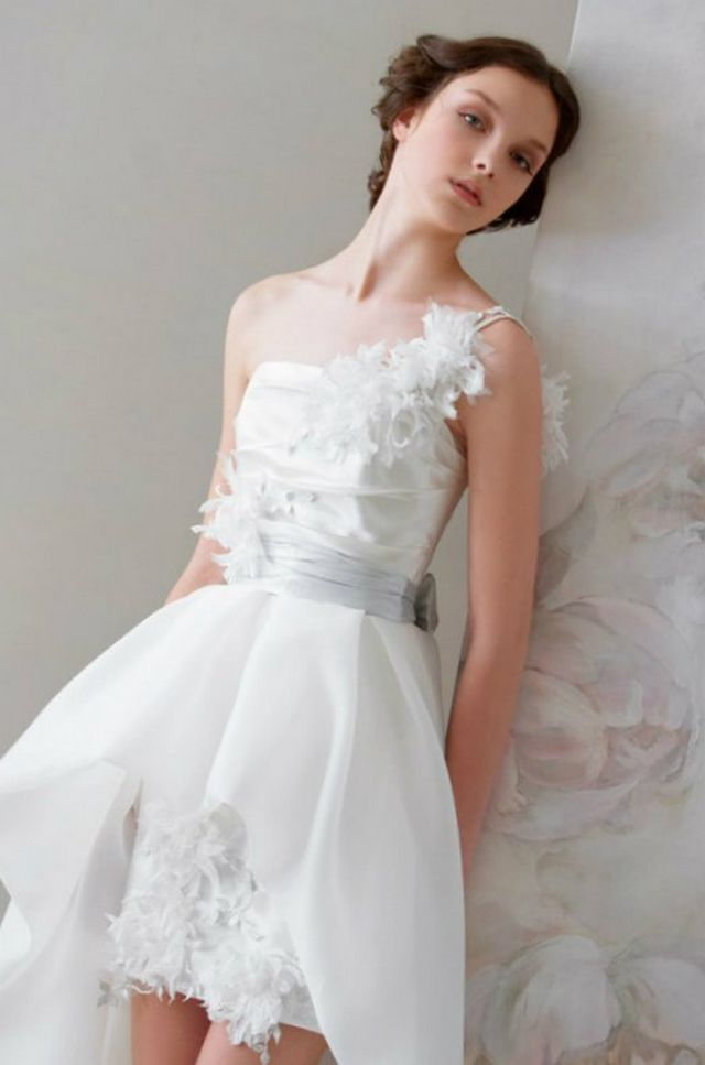 short bridal gowns pictures
