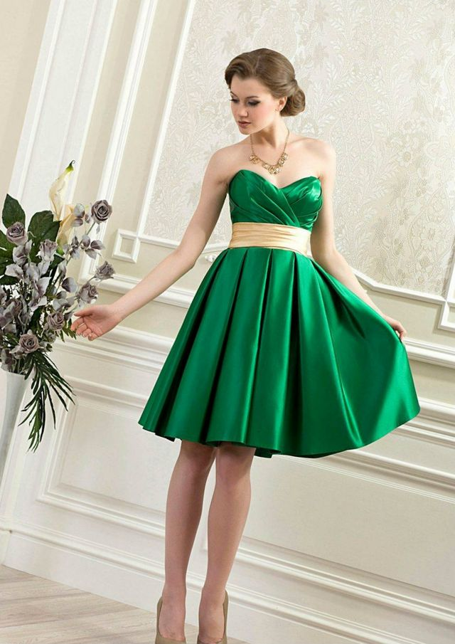 short green wedding dress