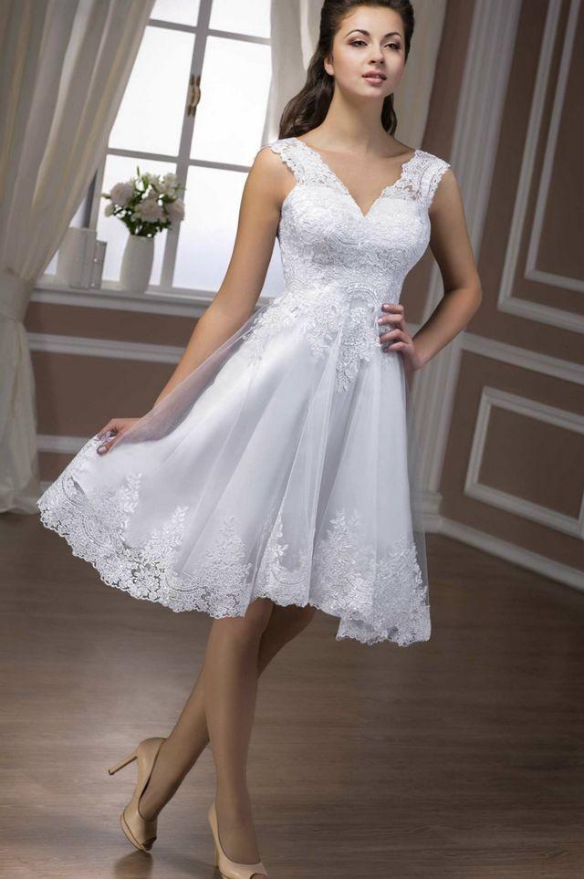 short wedding dresses images